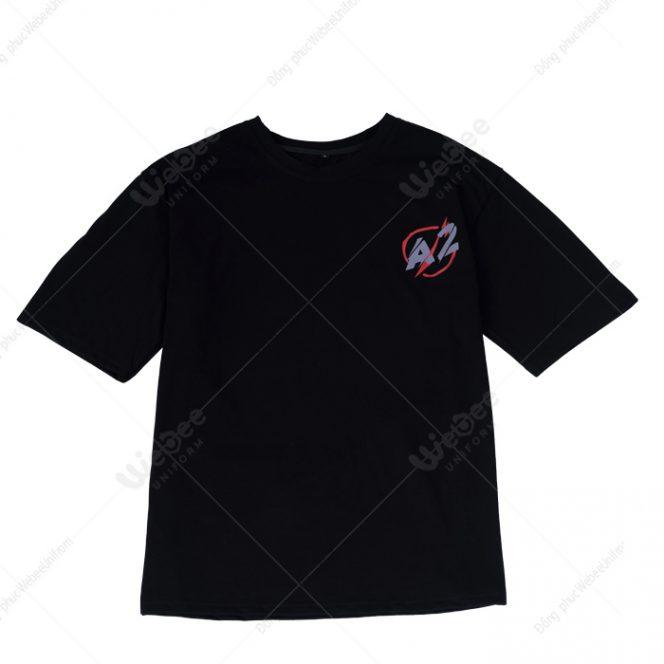 Áo đồng phục lớp màu đen logo A2-01