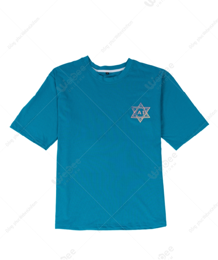 Áo lớp A1 hologram màu xanh lý