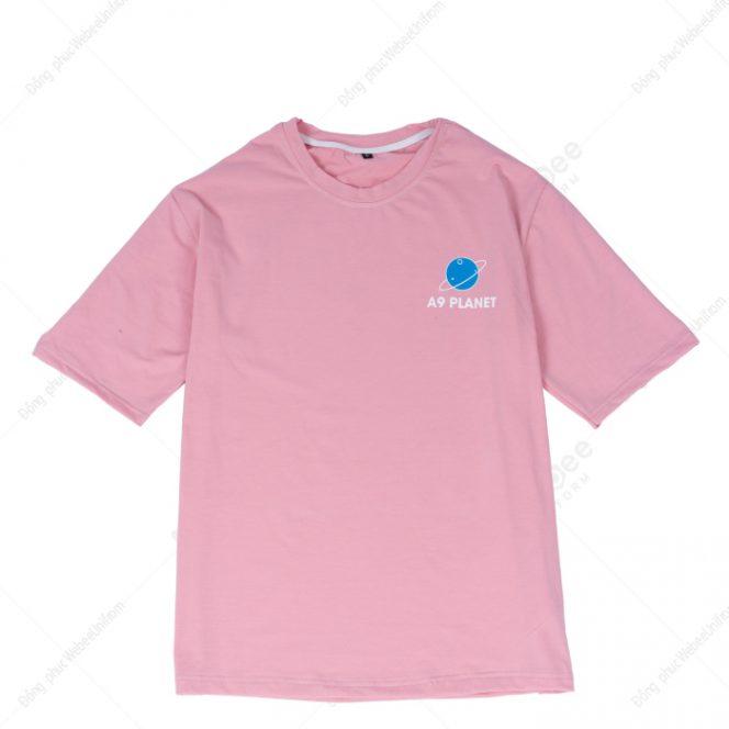 Áo lớp 9A hồng vỏ đỗ