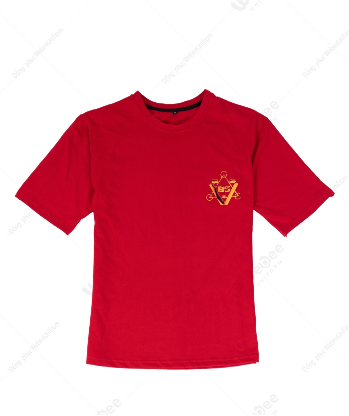 Áo lớp B5 hologram màu đỏ