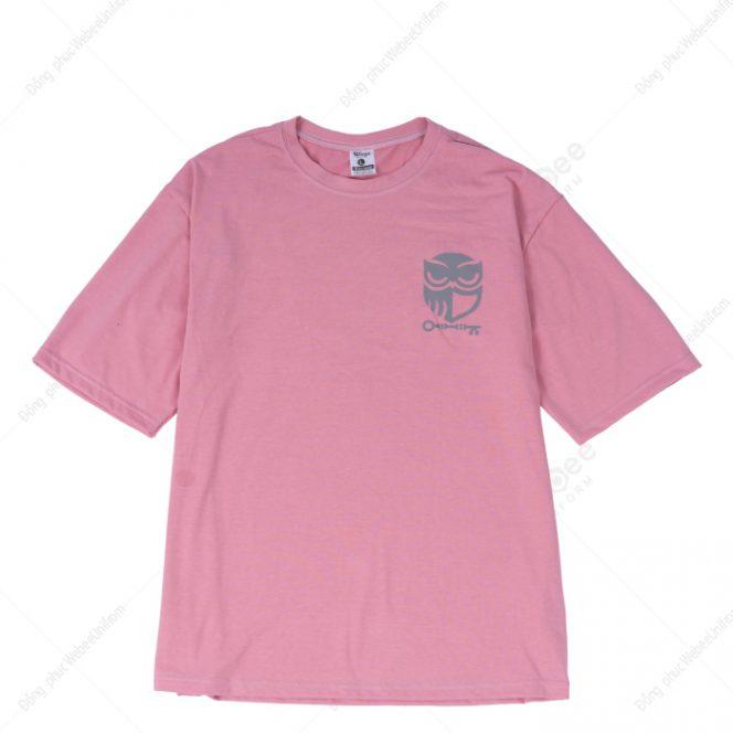 Áo lớp hologram hồng vỏ đỗ