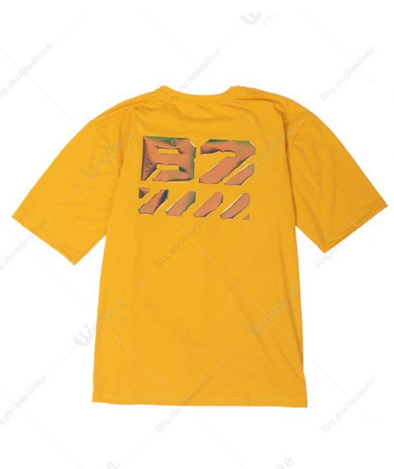 Áo lớp Hologram màu vàng logo B2-02