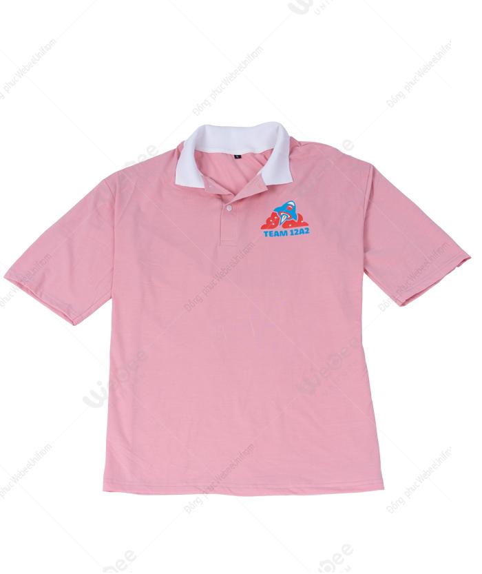 Áo lớp màu hồng 12A1 LTT-01