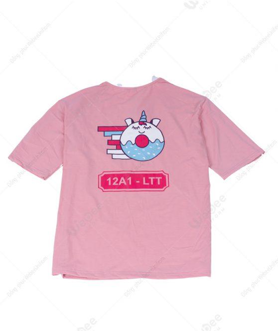 Áo lớp màu hồng 12A1 LTT-02