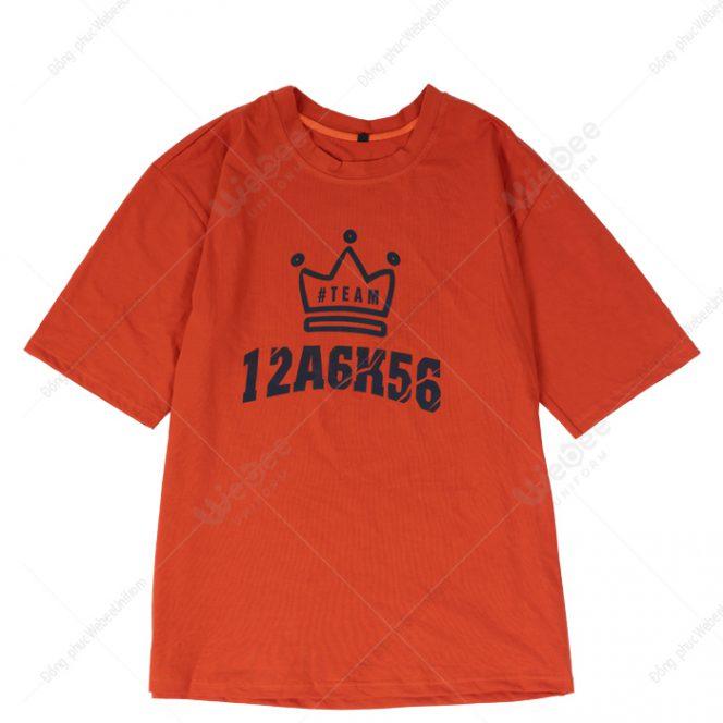 Áo lớp phản quang màu cam logo A6-01