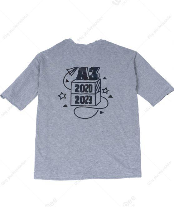 Áo lớp phản quang màu xám A3 2020-2023-02