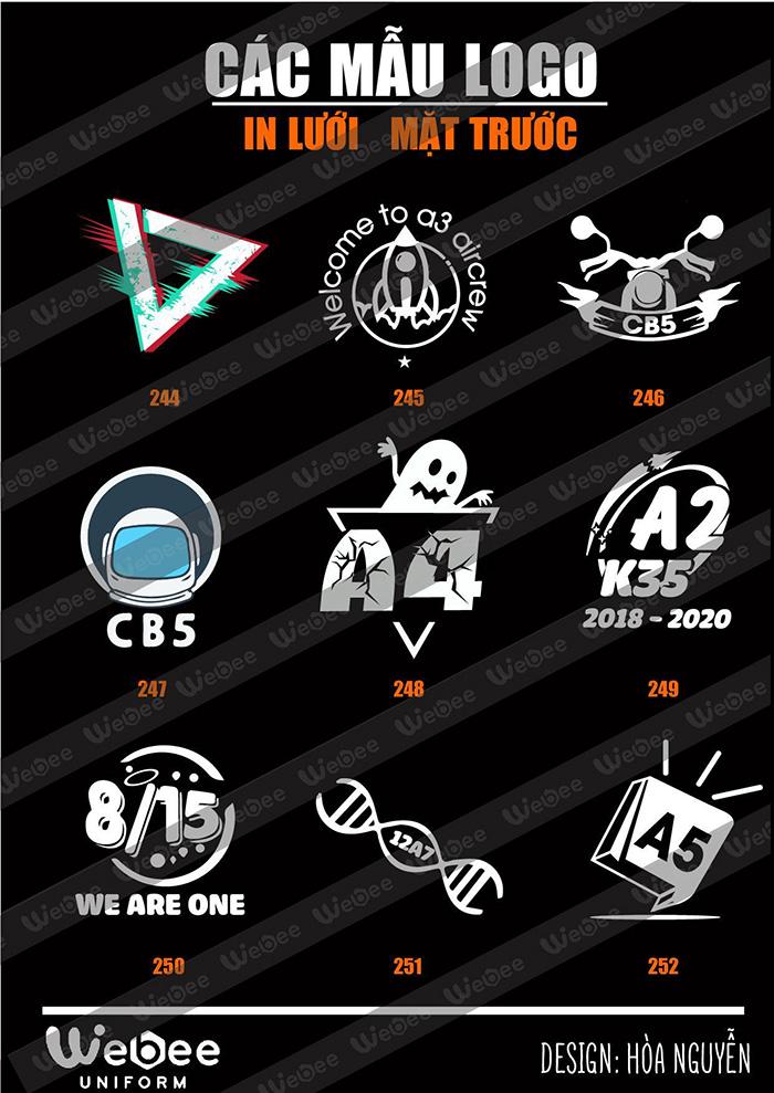 Gợi ý một số mẫu logo áo lớp cực chất-01