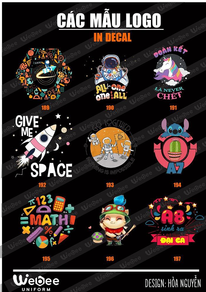 Gợi ý một số mẫu logo áo lớp cực chất-07