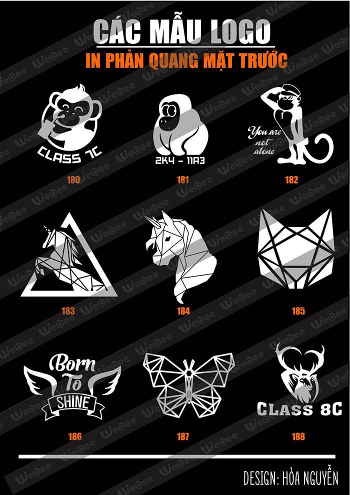 Gợi ý một số mẫu logo áo lớp cực chất-11