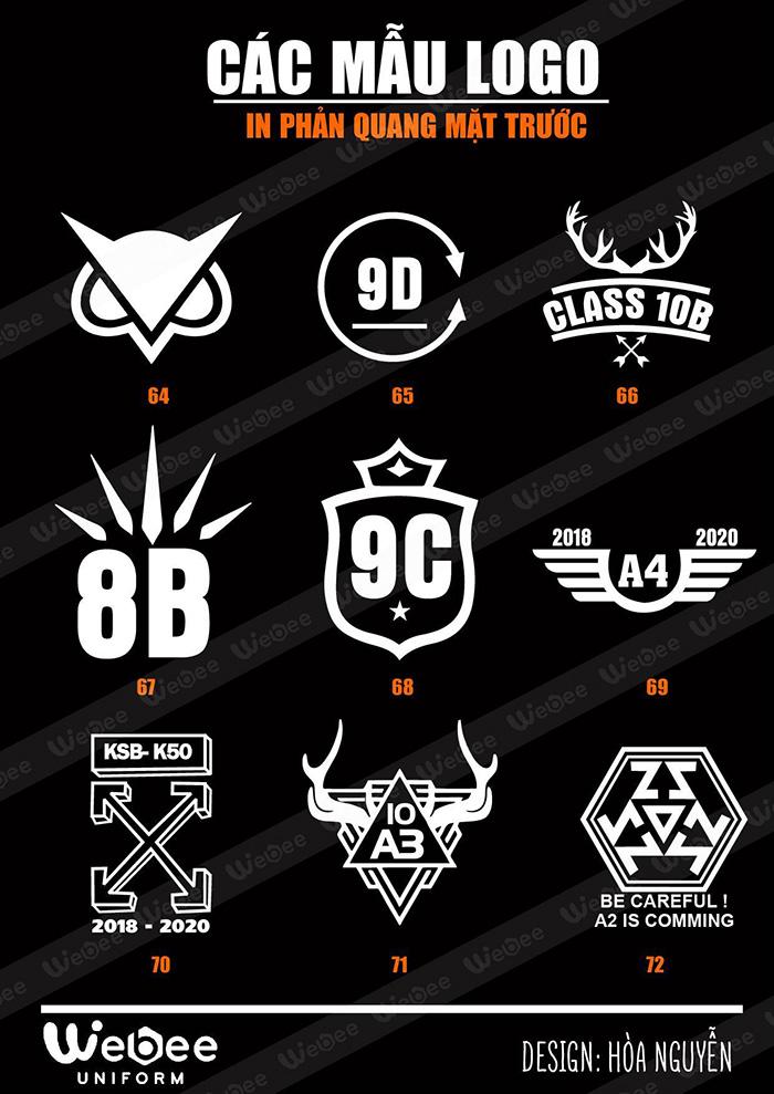 Gợi ý một số mẫu logo áo lớp cực chất-12