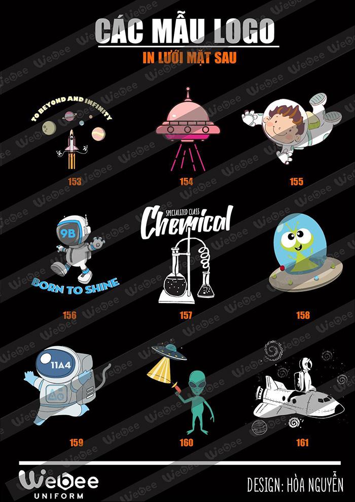 Gợi ý một số mẫu logo áo lớp cực chất-23