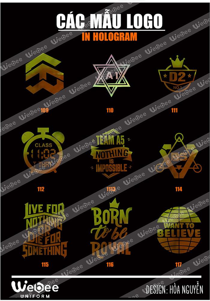 Gợi ý một số mẫu logo áo lớp cực chất-25