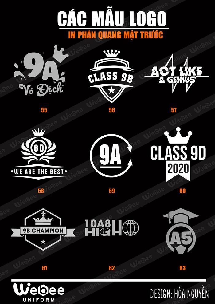 Gợi ý một số mẫu logo áo lớp cực chất-30