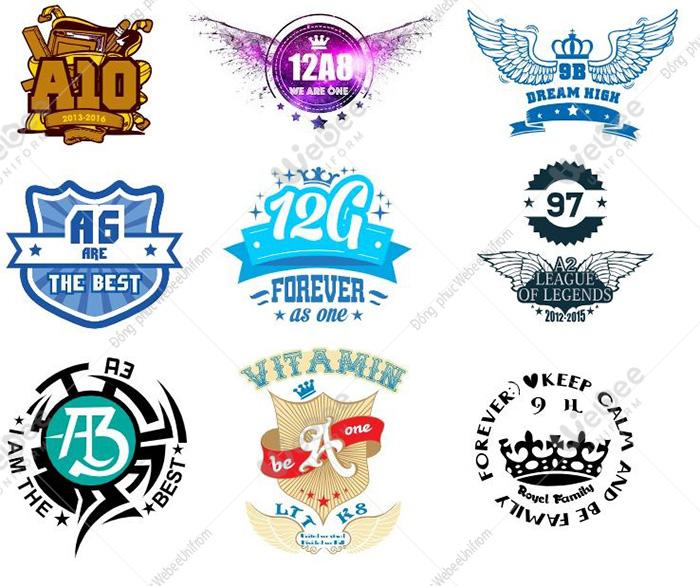 Gợi ý một số mẫu logo áo lớp cực chất-31