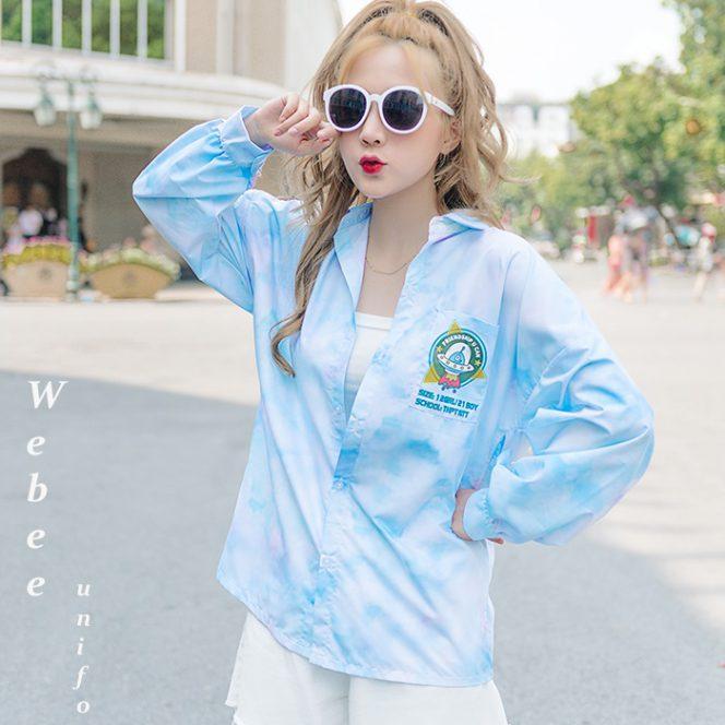 Đồng phục áo lớp Tint shirt 002