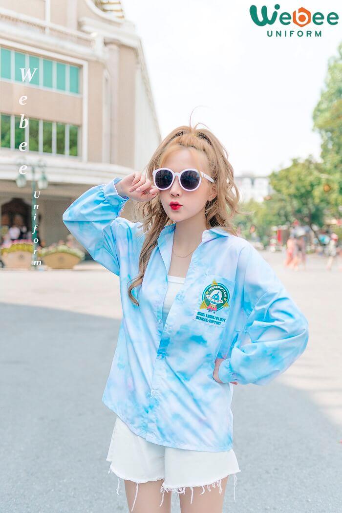 Top 100+ mẫu áo đồng phục lớp đẹp hot trend 2020-01
