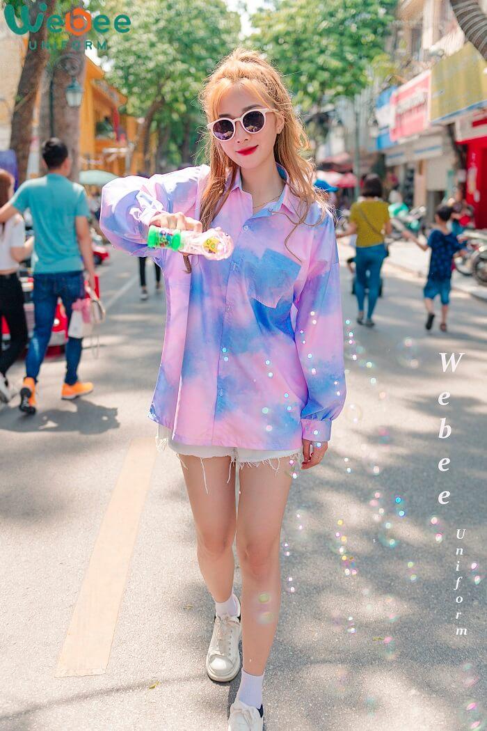 Top 100+ mẫu áo đồng phục lớp đẹp hot trend 2020-02